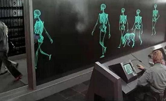 Image result for total recall x ray scene arnold