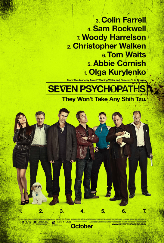 colin farrell zombies ruin everything movie review seven psychopaths