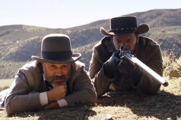 King Schultz and Django, out for blood.