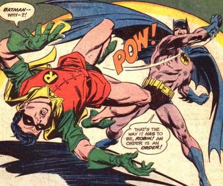 Batman tried to tell Robin that Superman's an FeSi dominant, but Robin wouldn't listen.