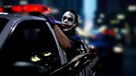 """The Joker racing Vin Diesel & Co. in """"Fast 5."""""""