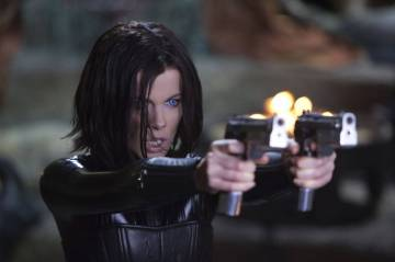 Personally, I think someone should've have trained her to not LOCK HER ELBOWS when she shoots, but I guess all rules go out the window when you're immortal.