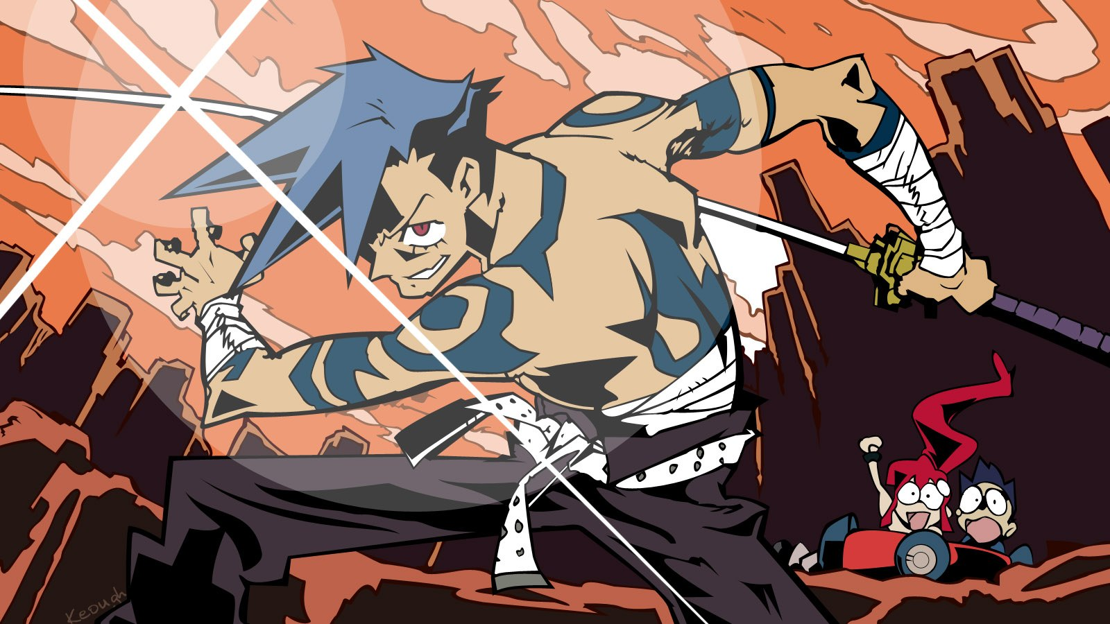 Anime Characters Enfp : Mbti gurren lagann s kamina enfp zombies ruin everything