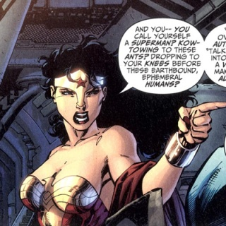 ...Except when Jim Lee writes her.