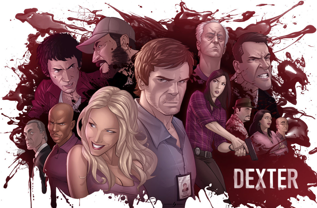 meet the cast dexter end of series