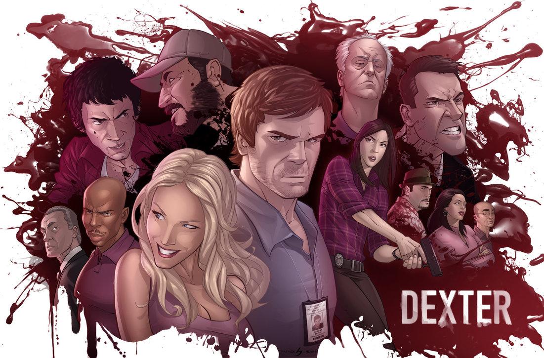 meet the cast dexter end of series