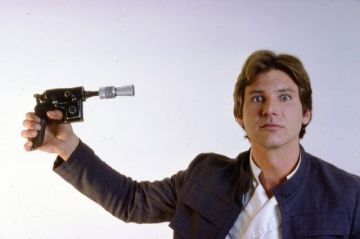 Han shoots first and last.