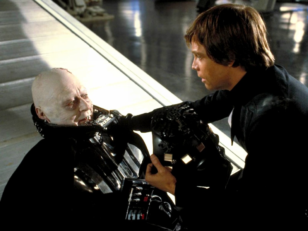 transformation of luke skywalker and darth Anakin skywalker's transformation into darth vader may have been well-documented for us in the prequels, but vader's true identity wasn't public knowledge.