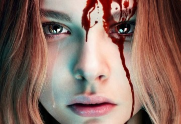 Between Kick-Ass and all the Horror movies, we conclude that Chloe Grace Moretz doesn't mind getting bloody.