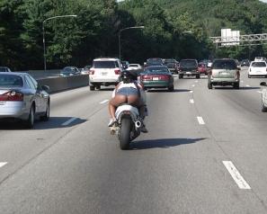 Whoa! Easy, rider!