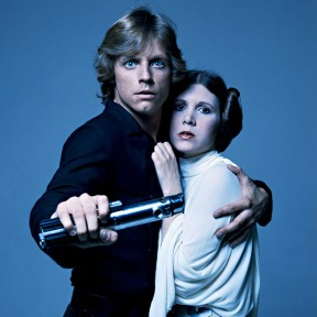"""Hold on, Nancy!"" -Leia"