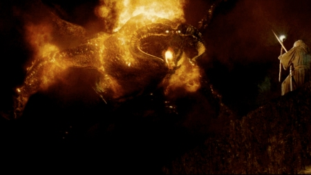 And then there's Balrog's fire which incinerates everybody.