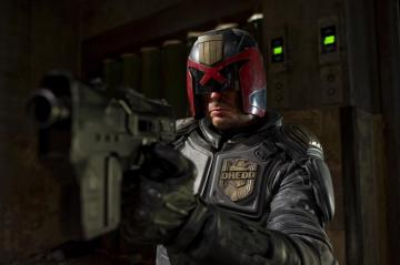 While not a comedy, Dredd is a solid B, with maybe a personal higher grade.