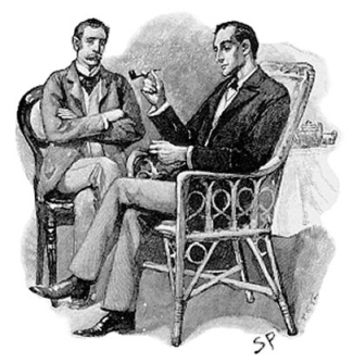 """-""""Watson man, I told her, I was like, 'I'm doing it!' Don't try and stop me!"""" -""""Holmes! You didn't! What'd she say??"""""""