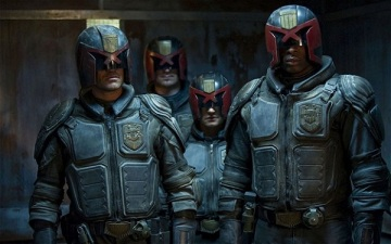 And everybody else in Dredd's world.