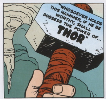What's that, Thor? Comic Sans MS? Huh.