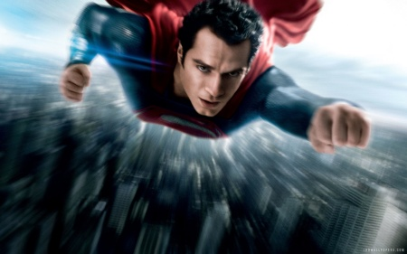 """Hold on post office! My taxes WILL be mailed today!"" Man of Steel, rated PG-13 due to adult situations."