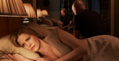 Well, come on, look at the way she sleeps! So stupid...but Look at Walt. OMG so tight.