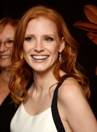 What comic character should Chastain play? Or is she above all of that? Do these questions make you want to answer them? Or do you feel like you're being interrogated? Does this keyboard make me look fat?