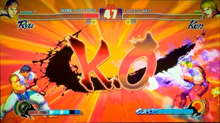 Times-Mail / PETE SCHREINER Street Fighter IV screen shot