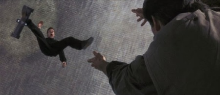 FYI this shot in reverse slow motion looks like Trevelyan is comin' home for a big crotch hug by Bond. Homies.