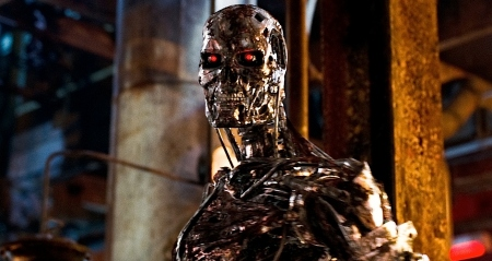It's like the T-800 calling another robot easily controlled.