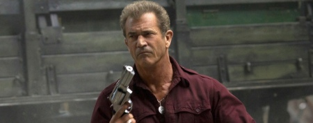 The good news, Mel, is that you're going to get paid a lot and this movie is going to be huge. The bad news is that you're going to be in The Expendables III.