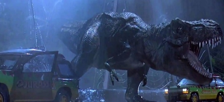 Lucas' special effect company worked on the FX for MANY films, notably Jurassic Park.