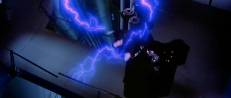 You know why Vader threw the Emperor don't you? Lightning envy.