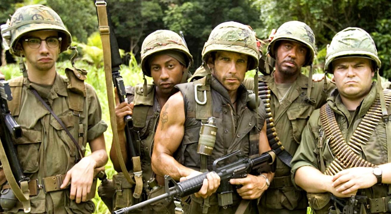In Tropic Thunder i protagonisti non hanno diritto di voto: o combattono o periscono