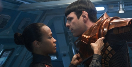 """Spock, you need to open up to me."" ""You first."" ""...No."""