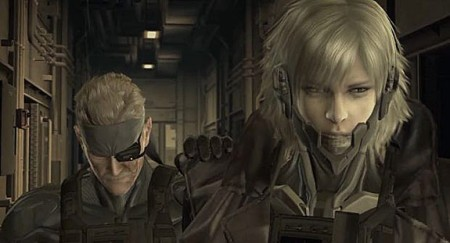 Even without arms, you were the prettiest of the Metal Gear dudes, Raiden.