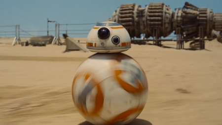 The droid that carries the message- so spunky! So impossible to understand except by other characters!