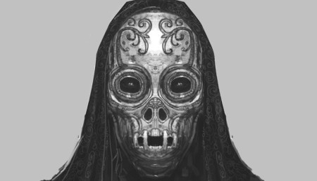You don't get a super cool Death Eater mask if you're not a little bad.